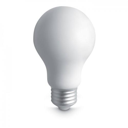 Anti-stress PU bulb in white