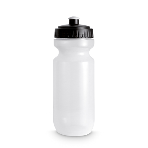 Plastic Drinking Bottle in black