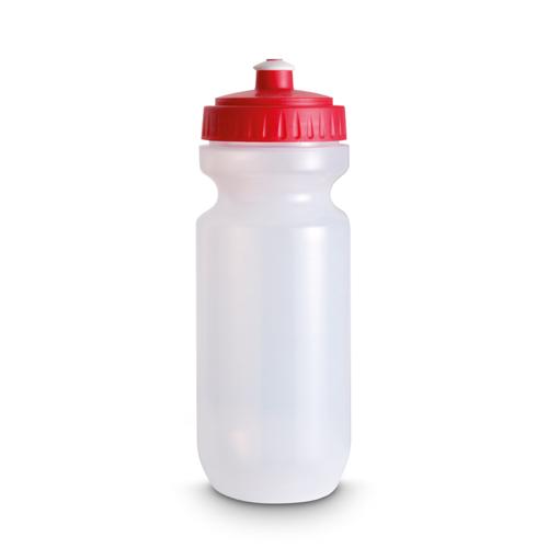 Plastic Drinking Bottle in red