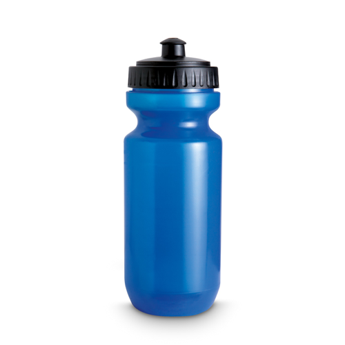 Plastic Drinking Bottle in transparent-blue