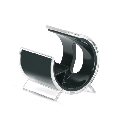 Phone stand in black