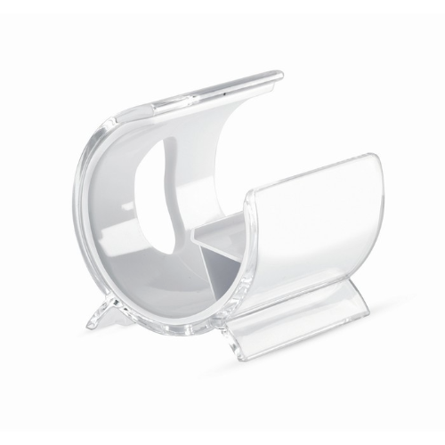 Phone stand in white