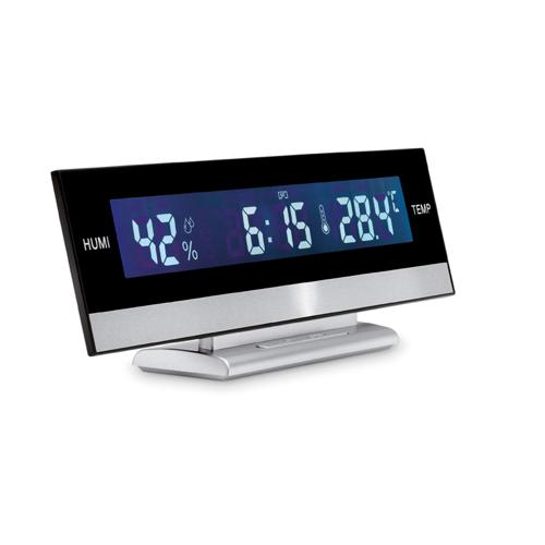 Digital Weather Station in matt-silver