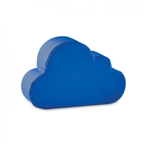 Anti-stress in cloud shape      in blue