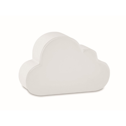 Anti-stress in cloud shape      in white