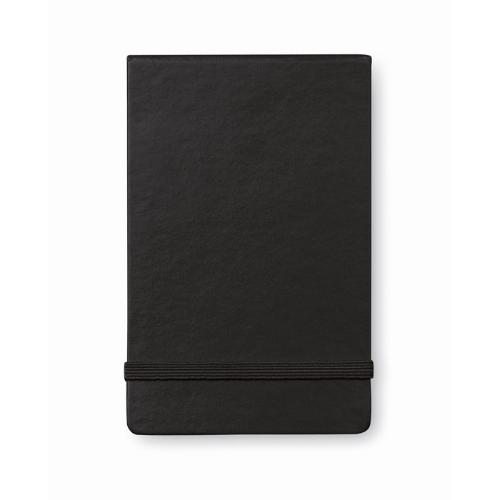 Vertical format notebook in black