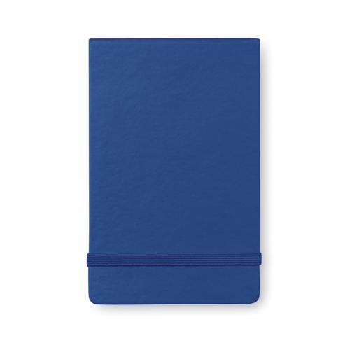 Vertical format notebook in blue