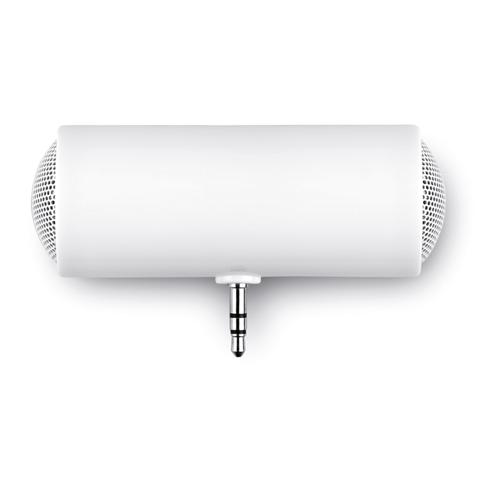 Speaker in white