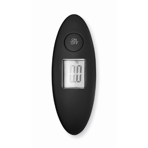 Luggage scale in white