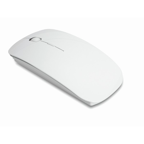 Wireless mouse in white