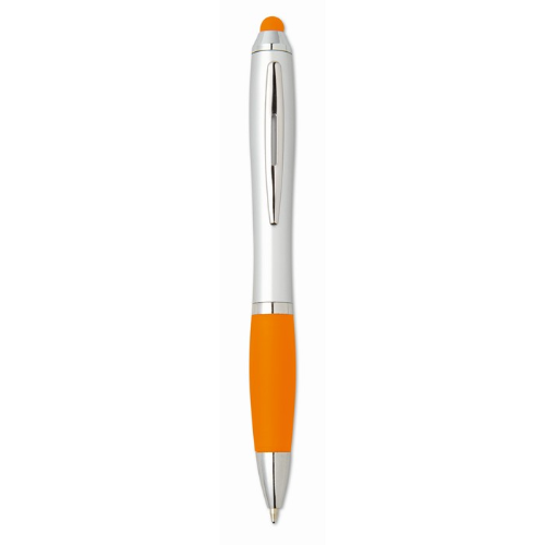 Stylus Ball Pen in orange