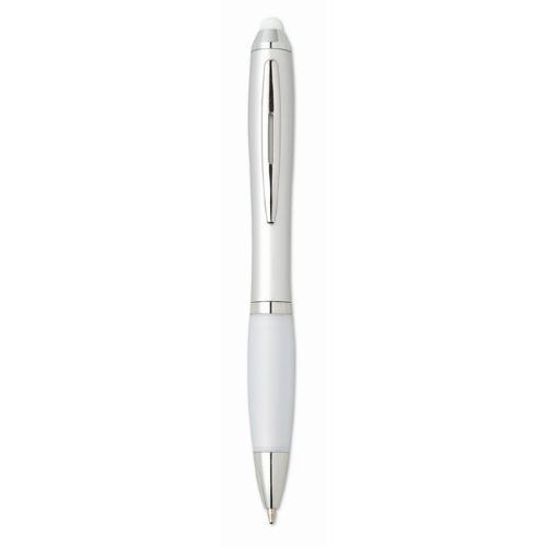 Stylus Ball Pen in white