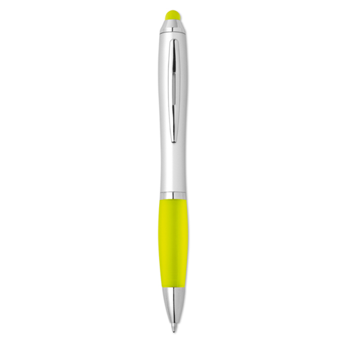 Stylus Ball Pen in yellow