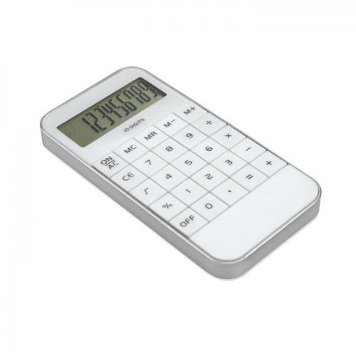 10 digit display Calculator in white