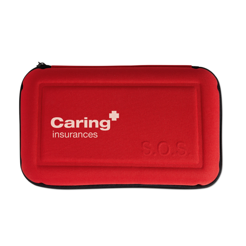 Car Safety Kit in red