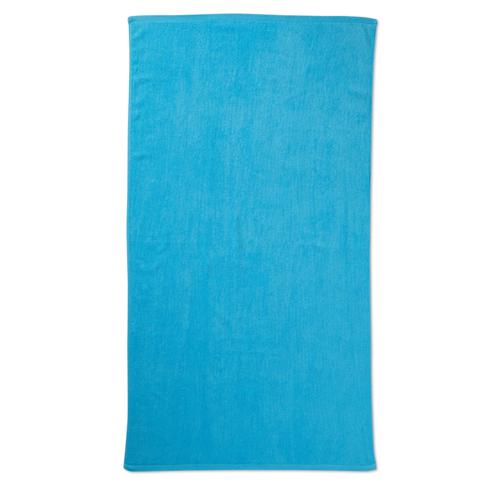 Beach towel in blue