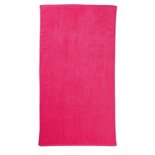 Beach towel in fuchsia