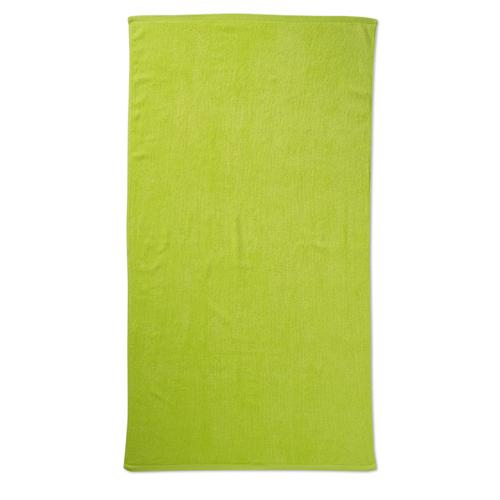 Beach towel in lime