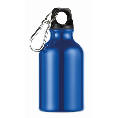 300ml aluminium bottle          in blue