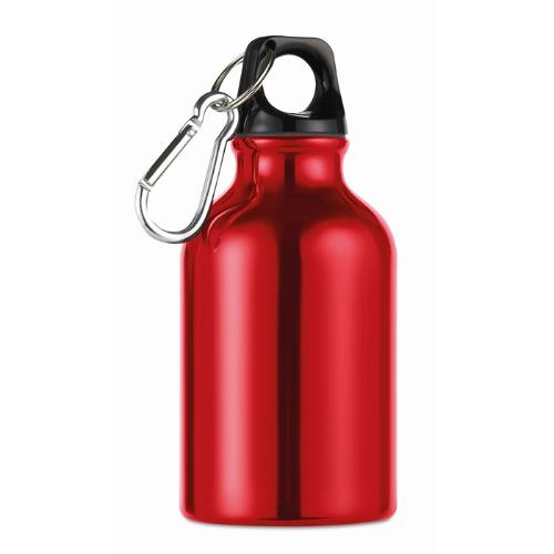 300ml aluminium bottle          in red