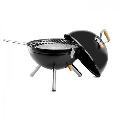 BBQ grill in black