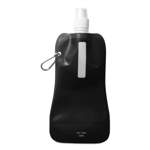 Foldable water bottle in white