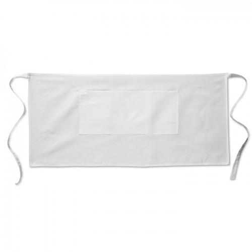 Waiter's apron short 195 gr/m2 in white