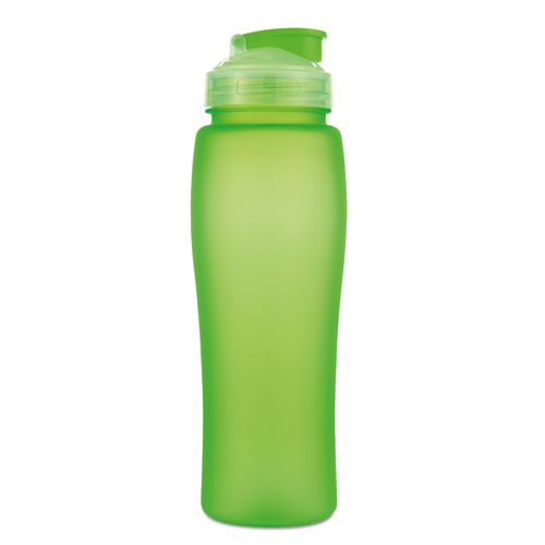 750Ml Bottle With Pop Up Straw in lime