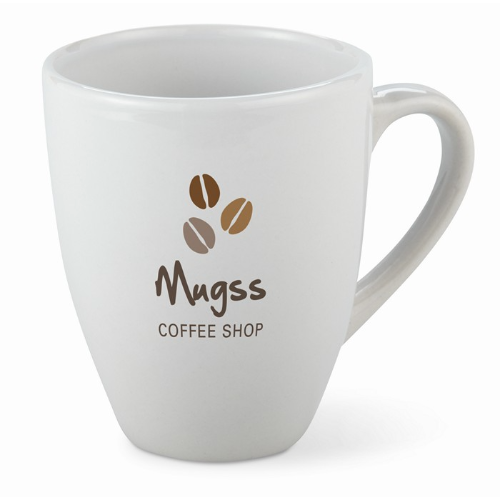 Mug 160 ml stoneware in white