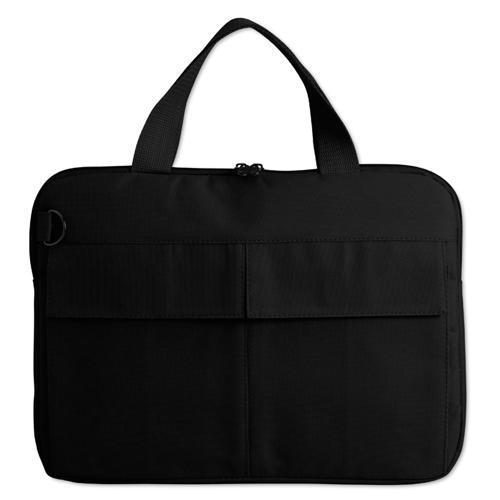 600D Polyester Computer Bag in black