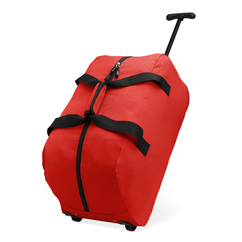 Trolley Travel Bag in red