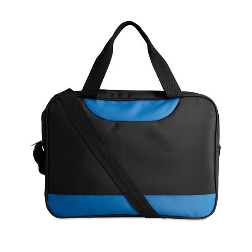 Micro Fibre Document Bag in royal-blue