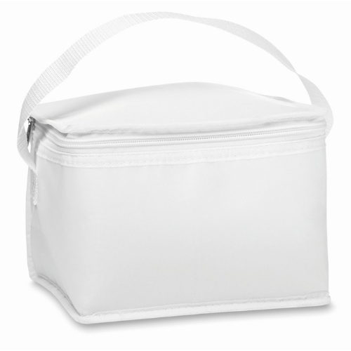 Cooler bag for cans in white