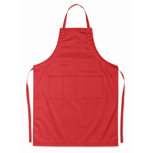 Adjustable apron                in red