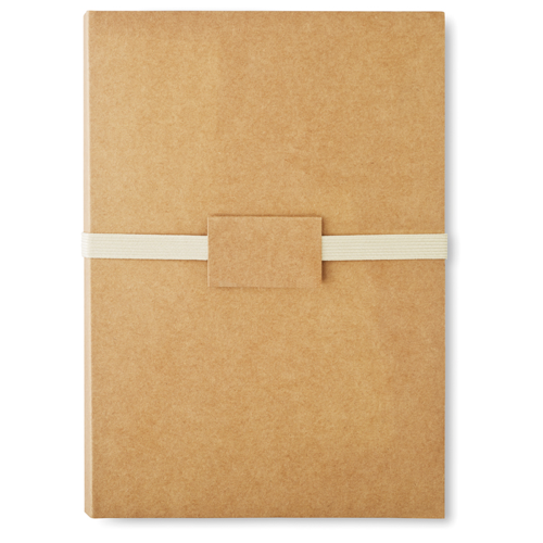 Stationery Set In Folder in beige