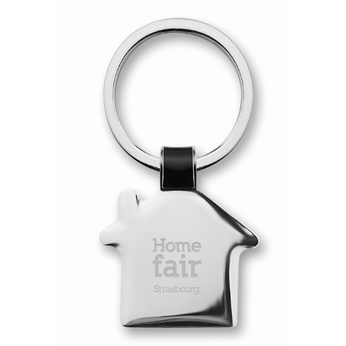 House shaped key ring           in