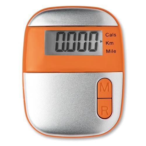 Pedometer                       in orange