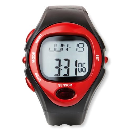 Digital Sports Watch in red
