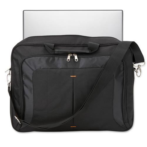 Trendy 17 Inch Laptop Bag in black