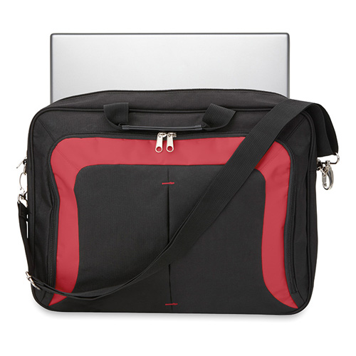 Trendy 17 Inch Laptop Bag in red