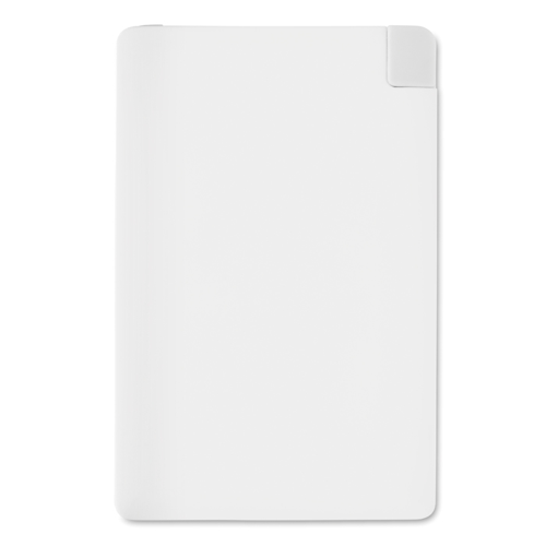Power Bank Ultra Thin in white