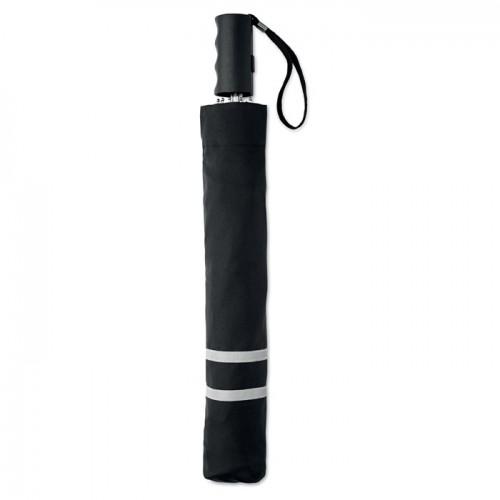 21 inch 2 fold umbrella in black