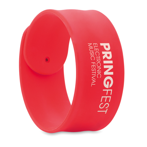 Silicone Snap Bracelet
