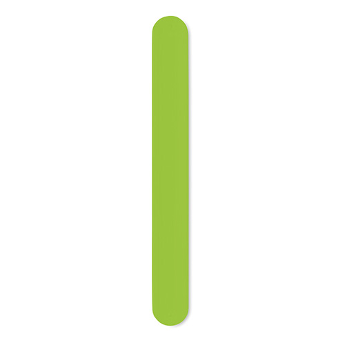 Silicone Snap Bracelet in lime