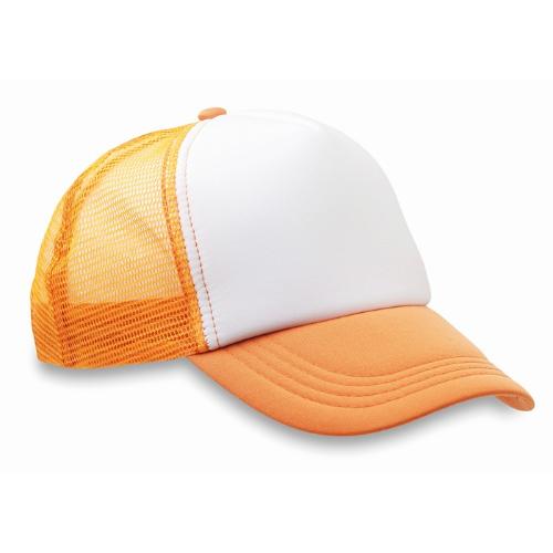 Truckers cap                    in neon-orange