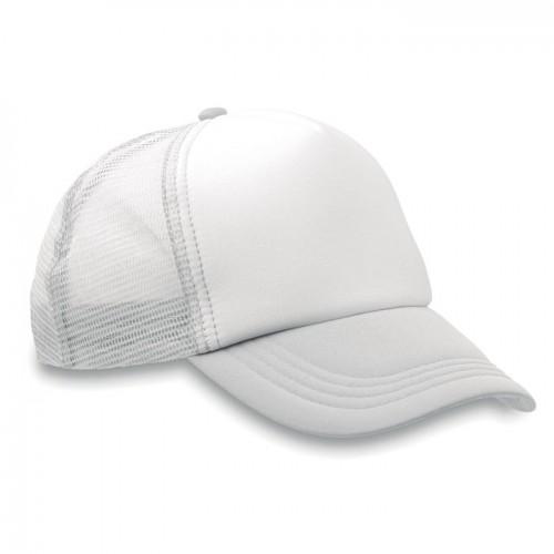 Truckers cap                    in white