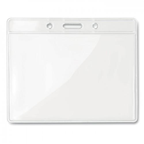 Transparent badge 10cmx8cm      in transparent