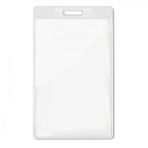 Transparent badge 7.5cmx12.5cm  in