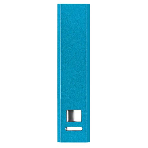 Aluminium power bank            in blue