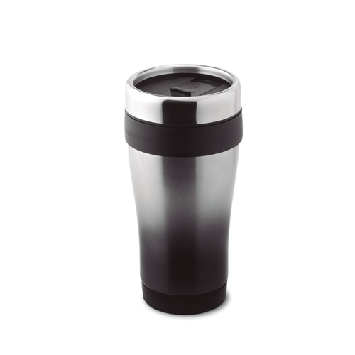 455 Ml Double Wall Mug in black